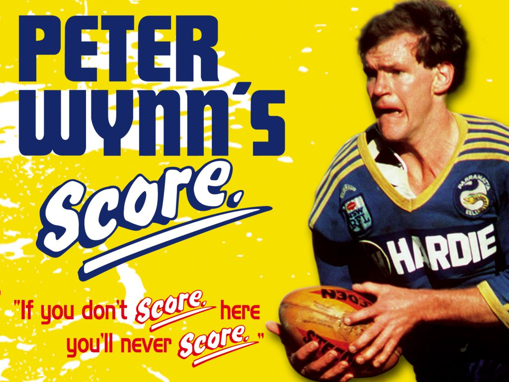 Peter Wynns STADIUM SIGN example