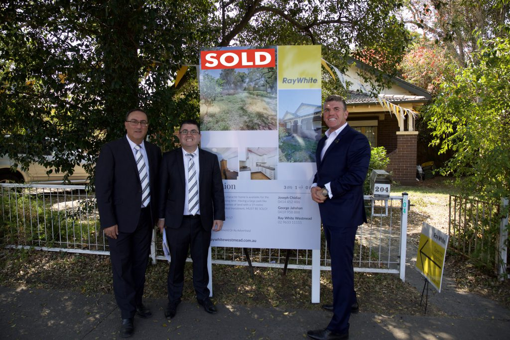 Mark Warren Auctioneer Ray White SOLD 23 Sept 2017